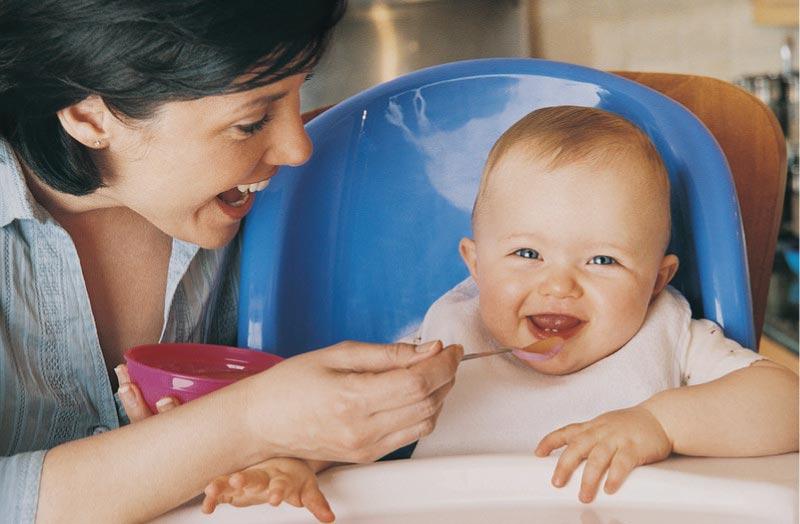 Alimentos para cada etapa do seu bebé